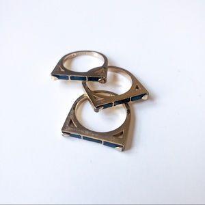 Kendra Scott Brass Ring Set
